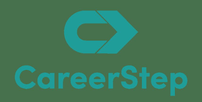 careerstep teal vertical logo