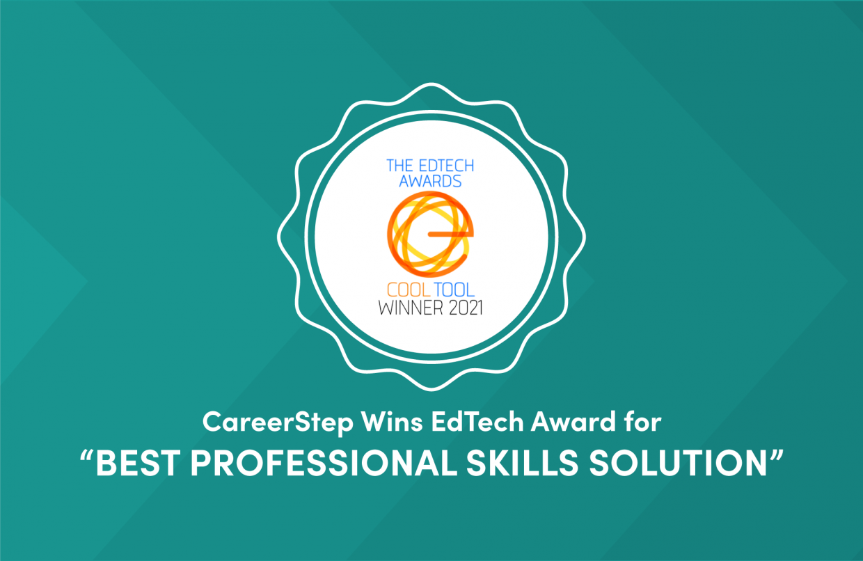 CareerStep Wins EdTech Award for Best Professional Skills Solution
